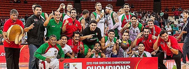 Triunfo en el Campeonato de America de la Selección Mexicana de Baloncesto.