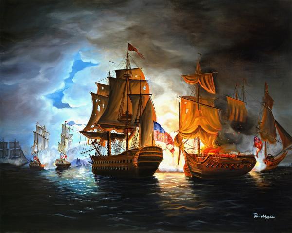 Battle of the Bonhomme Island
