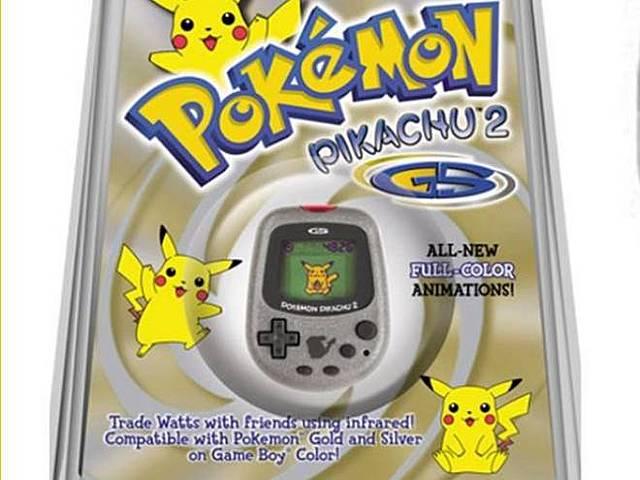 Nintendo Pokemon Pikachu 2 GS