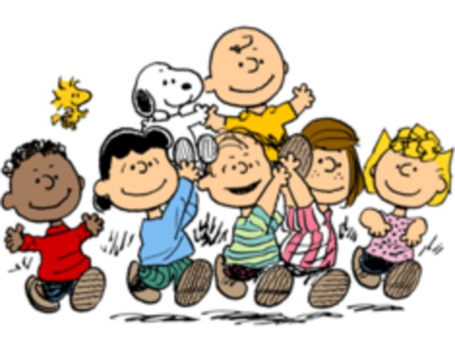The hit cartoon Peanuts is published