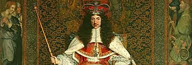 Restoration of the Stuart monarchy - King Charles The Second.