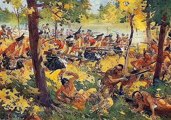 Pontiac's Rebellion.
