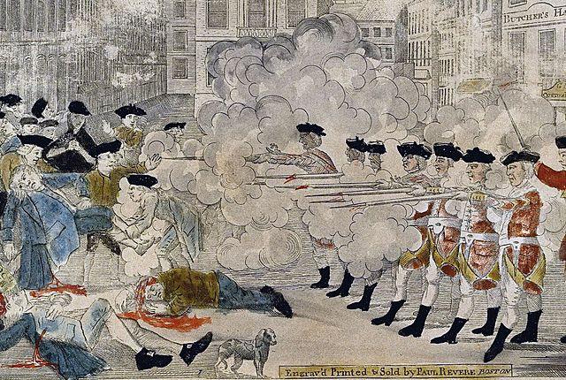 Boston Massacre.