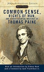 """Thomas Paine's """"Common Sense"""" is published; Declaration of Independence is signed."""