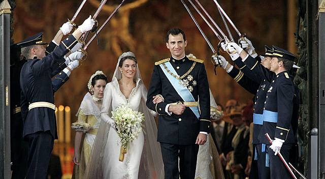 Marriage to Prince Felipe