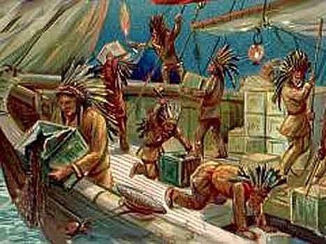 Hvorfor kastet  Nordamerikanere te ut i sjøen.