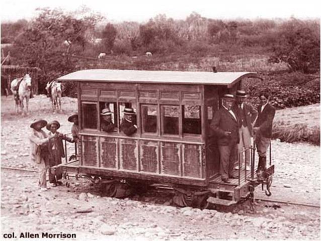 Primer Ferrocarril Lima Callao