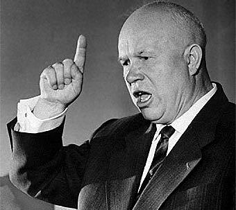 Llegada al poder de Nikita Jruschov
