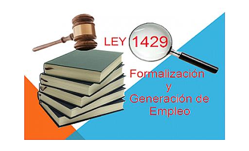 LEY 1429