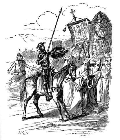 Don Quijote al Amanecer