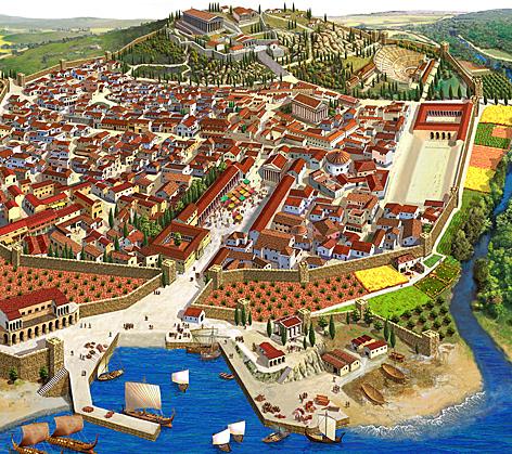 La Génesis del Estado Ateniense