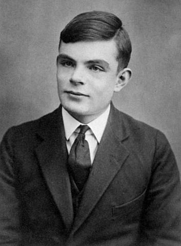 Alan Turing e a noção de maquina universal.