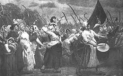 Kvinnenes marsjering til Versailles