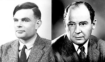 Alan Turing e John Von Neumann