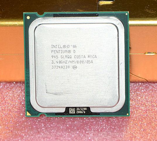 O primeiro processador Dual-Core
