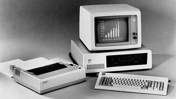 """Primeiro """"PC"""" da IBM"""
