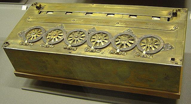 La Pascaline (A calculadora de Pascal)