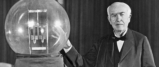 Light bulb invented