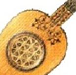 Guitarra del siglo XVI