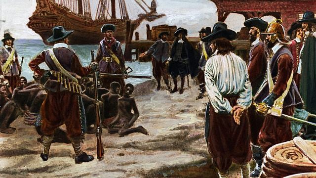 First African Slaves Arrive in Jamestown, Virginia Colony