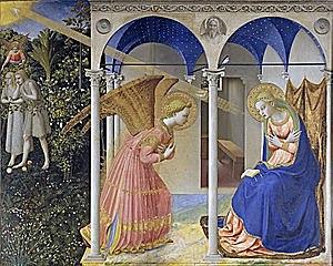 La Anunciación (1430 - Fra Angélico)