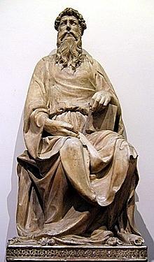 Escultura de San Juan Evangelista (1410 - Donatello)