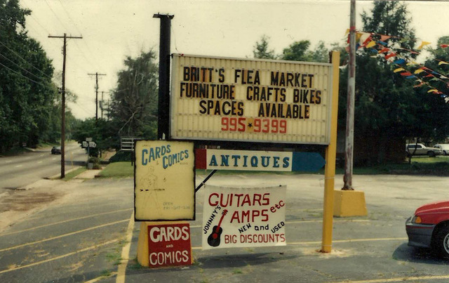 """""""Cards & Comics """" opens at Britts Flea Market"""