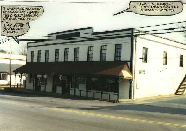 """Cards & Comics moves to the """"Old Rail Road Depot"""""""