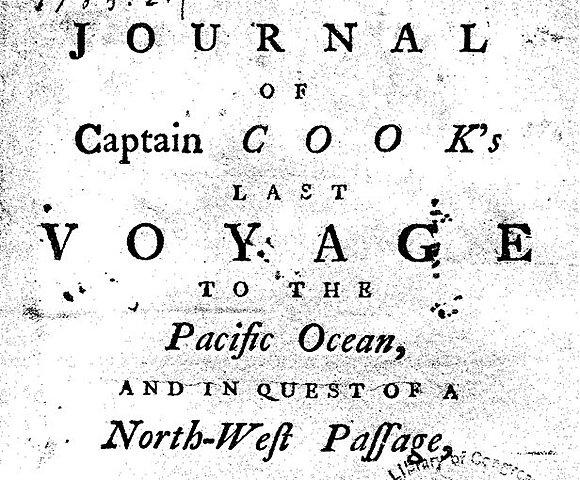 Журнал последнего путешествия капитана Кука по Тихому океану