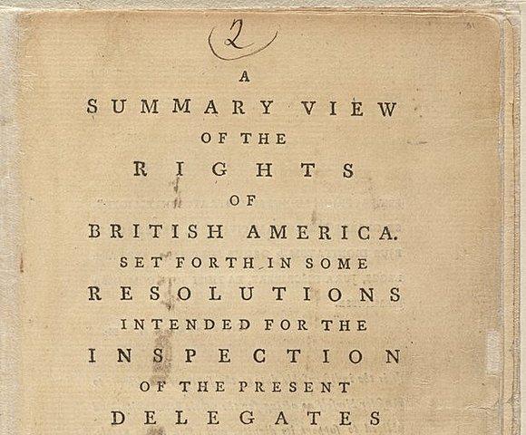 Краткий обзор прав в Британской Северной Америке