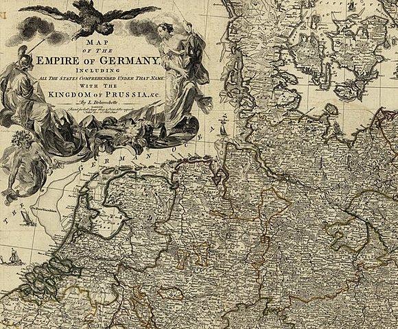 Карта Германской империи