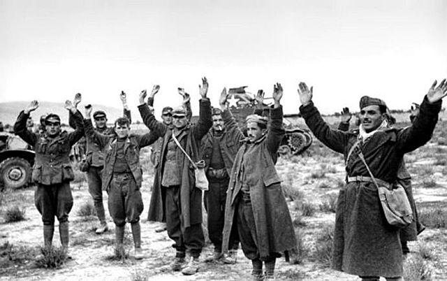 Axis surrender N Africa
