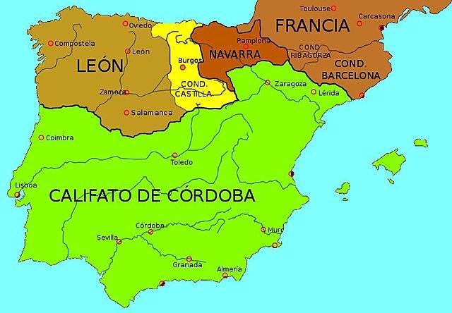 Creación del Condado de Castilla