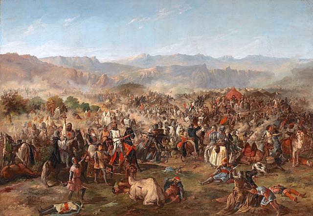 Batalla de las Navas de Tolosa (se acelera la reconquista el sur de España)