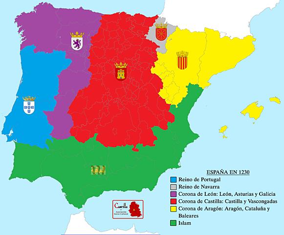 Unión definitiva de Castilla y León