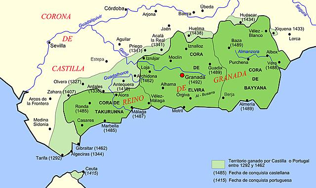 Granada único reino musulmán independiente