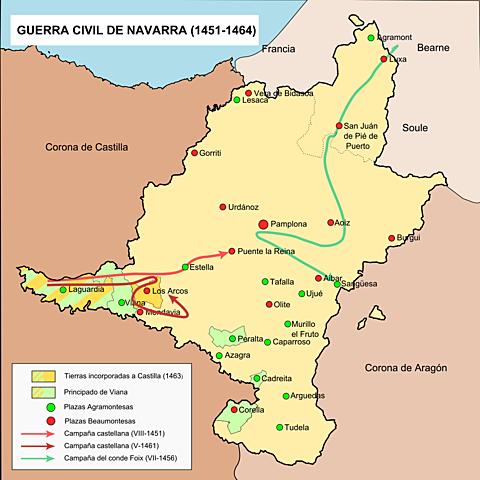 Guerra civil en Navarra
