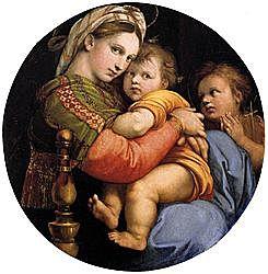 Madonna della segiola (Rafael Sanzio -
