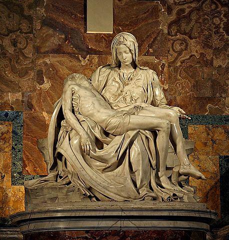 Piedad del Vaticano (Miguel Ángel - 1496)