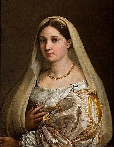 La Donna Velatta (Rafael - 1515)