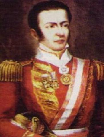 Primer Golpe de Estado. Riva Agüeo contra la Junta Gubernativa.