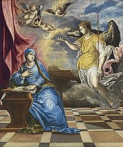 La Anunciación (1575 - El Greco)