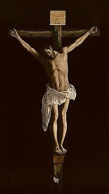 Cristo en la Cruz (Zurbarán - 1627)