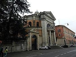 La iglesia de San Andrés del Quirinal (1658 - Bernini)