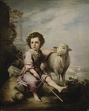 El Buen Pastor (Murillo - 1660)