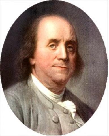 Benjamin Franklin: el pararrayos