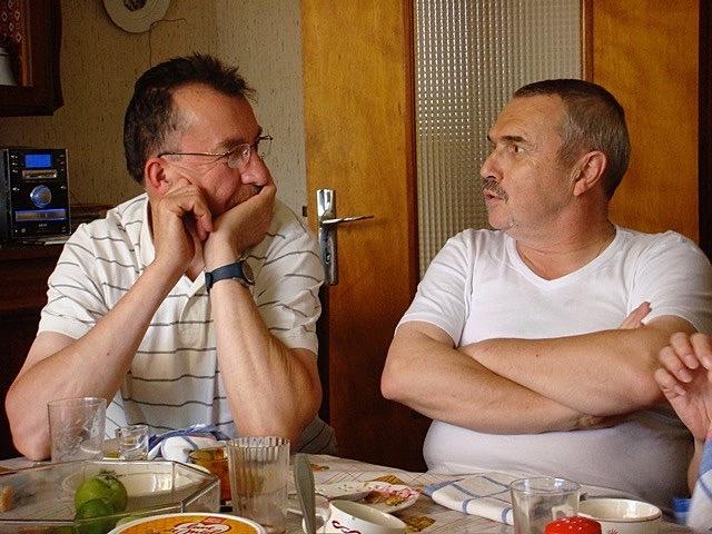 Yves et son cousin Gilbert