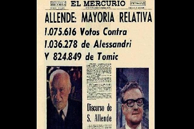 Política tres tercios 1958