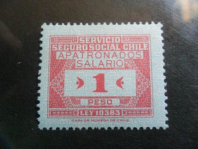 Servicio del seguro social 1952