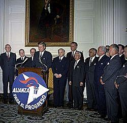 Alianza para el progreso 1961